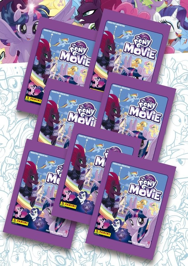 pack 15 sobres My Little Pony the Movie