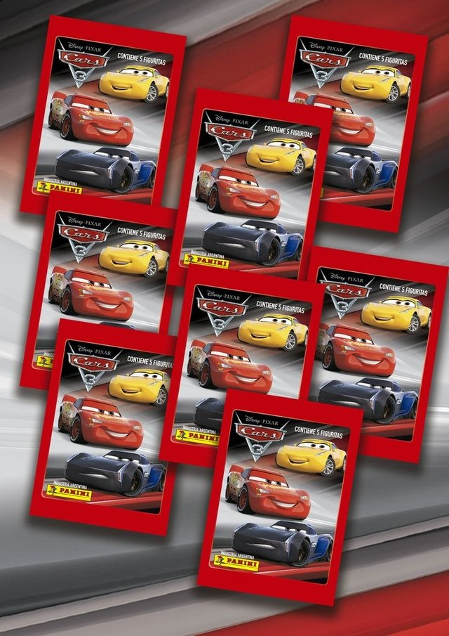 Pack 15 sobres Cars 3