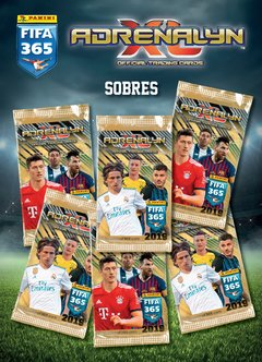 Pack x 10 sobres Cartas Adrenalyn FIFA365 2019