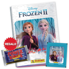 PACK PROMO 1 Album + 25 sobres FROZEN 2 + POWER RING DE REGALO - comprar online