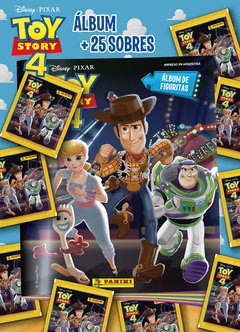 PACK PROMO 1 Album + 25 sobres TOY STORY 4