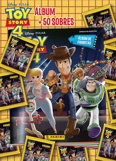 PACK INICIAL 1 Album + 50 sobres TOY STORY 4