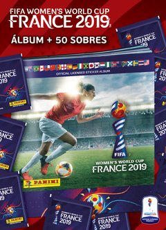 PACK INICIAL 1 Album + 50 sobres FIFA Women´s World Cup Francia 2019