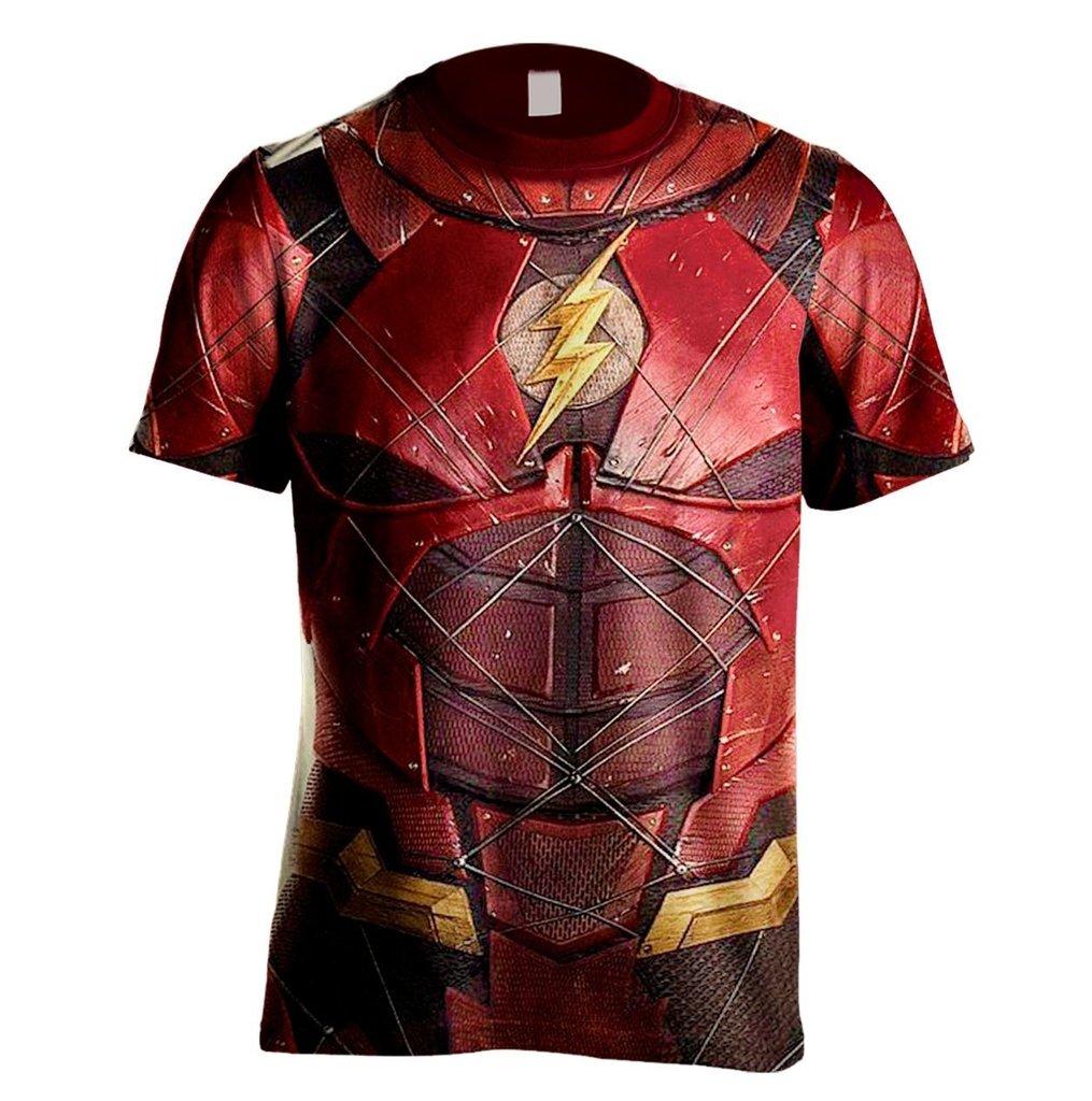 Camiseta Super Heróis - Flash - Jemone Store 07d164252df21