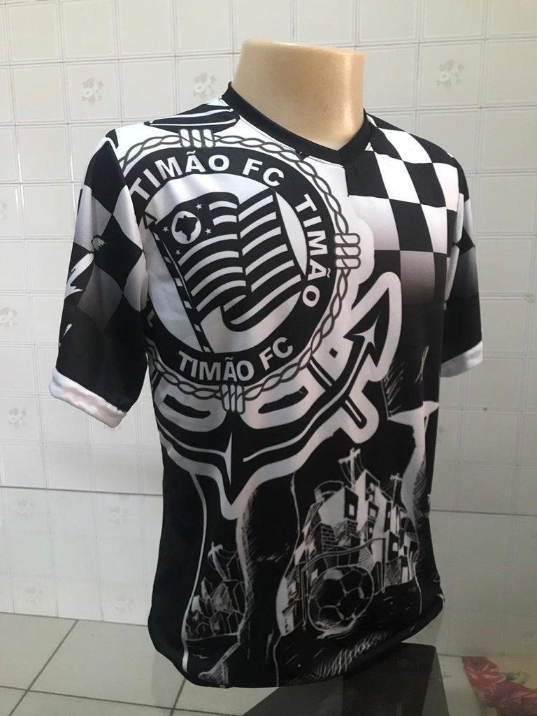 Camiseta Corinthians - Torcida 02 - Jemone Store 335592fae03f7