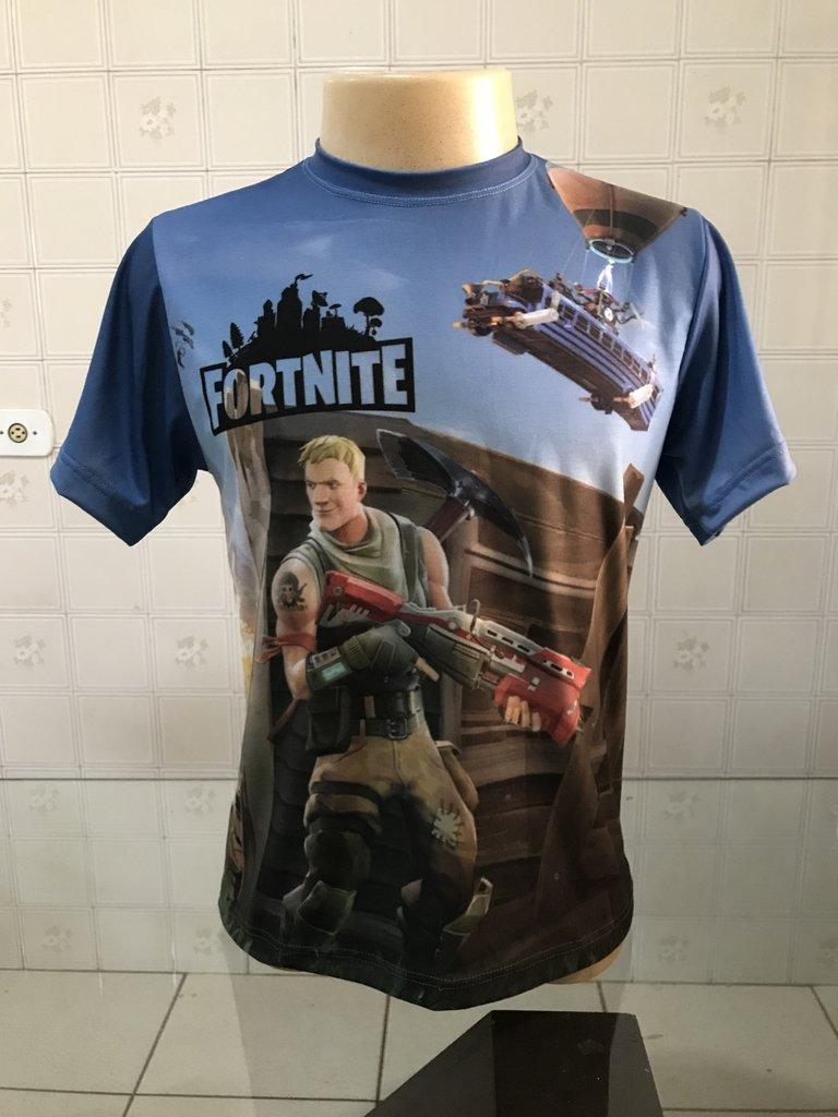 Camiseta FortNite - Modelo 01 - Comprar em Jemone Store 1fd38daefc63d
