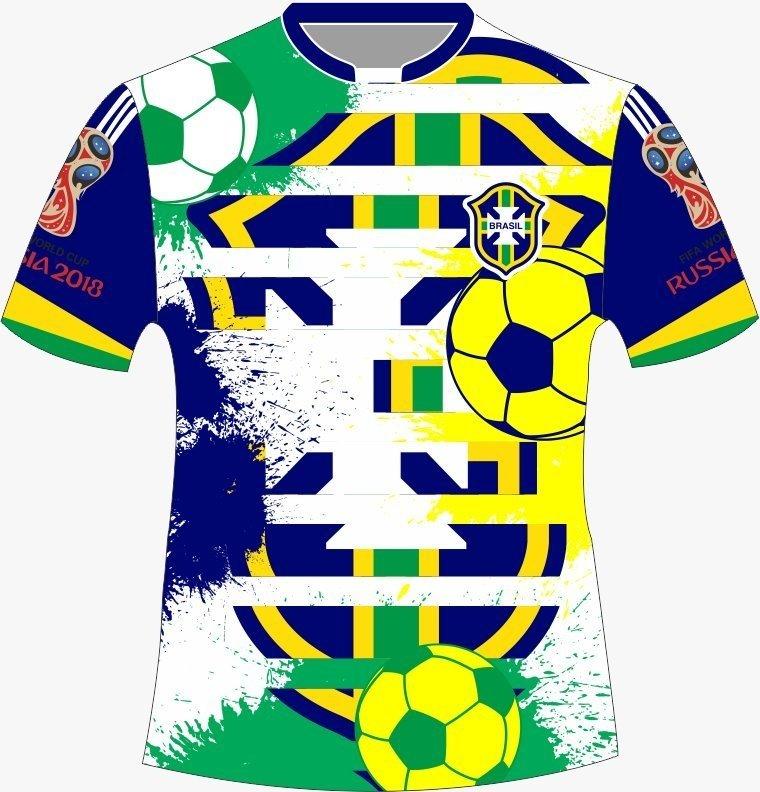Camiseta Brasil - Torcida 01 - Comprar em Jemone Store ab2782a9b4659