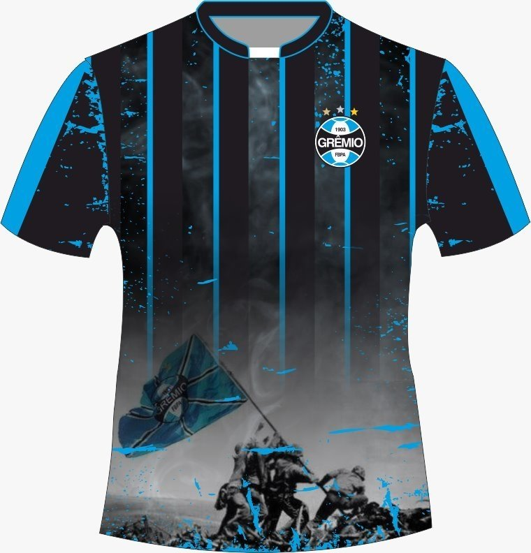Camiseta Gremio - Torcida 01 - Comprar em Jemone Store 1da24ff63c09f