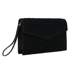 Clutch Munique Croché - Preto na internet