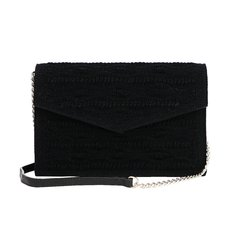 Clutch Munique Croché - Preto - loja online
