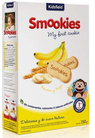 Smookies Banana 12 Paquetes 150gr