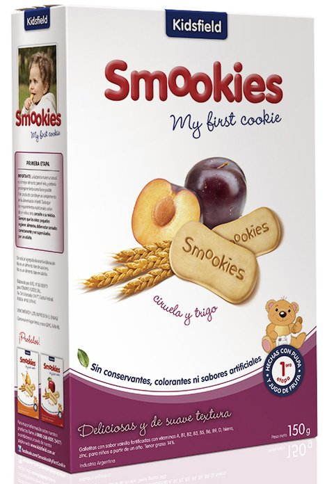 Smookies Ciruela 12 Paquetes 150gr