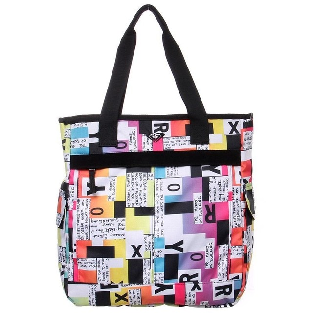 Bolsa Roxy Home Work Block Type Importada