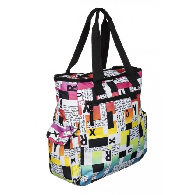 Bolsa Roxy Home Work Block Type Importada - locomotivos