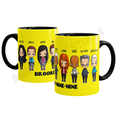 Caneca Brooklyn 99 na internet