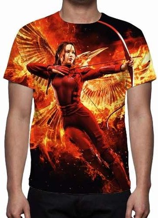 Camisa, Camiseta Jogos Vorazes A Esperan......