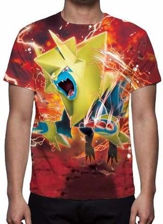 Camisa, Camiseta Pokémon Go Manectric -......