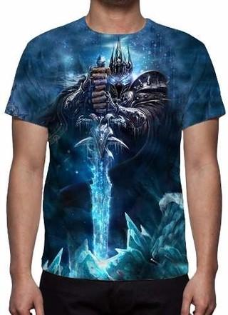 Camisa, Camiseta Warcraft Wrath Of The L......