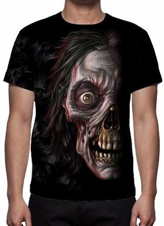 Camisa, Camiseta The Walking Dead Zombie......