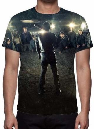 Camisa, Camiseta Série The Walking Dead......