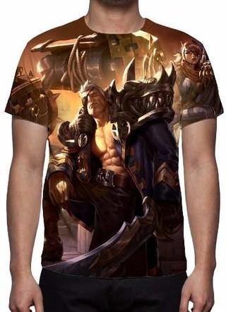 Camisa, Camiseta League Of Legends Garen......
