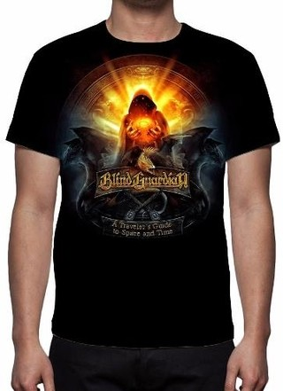 Camisa, Camiseta Blind Guardian - A Trav......