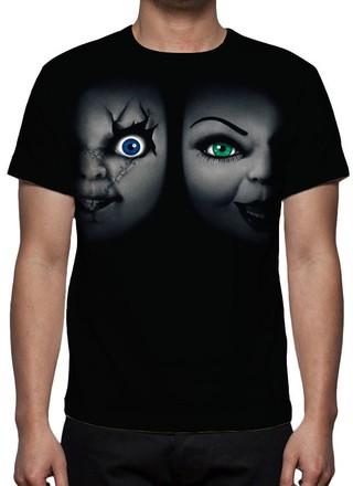 Camiseta A Noiva de Chucky - Estampa Tot......