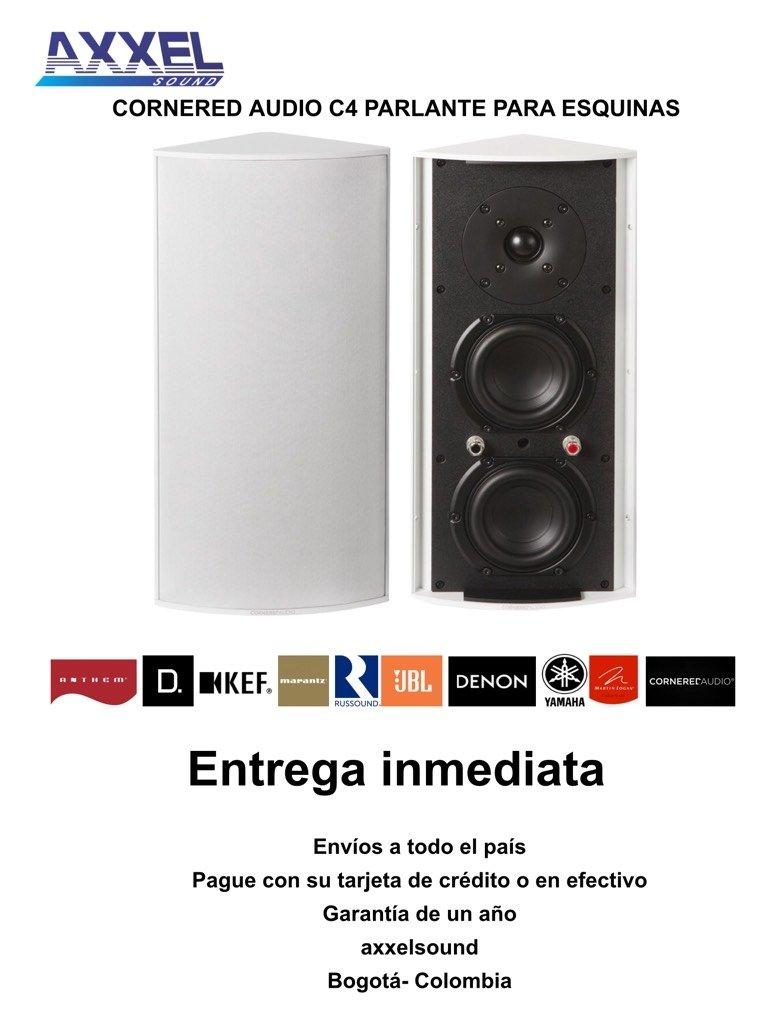 Cornered Audio C4, parlante para esquinas ($ por Unidad)