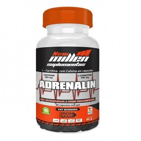 Adrenalin - New Millen - 60 cápsulas