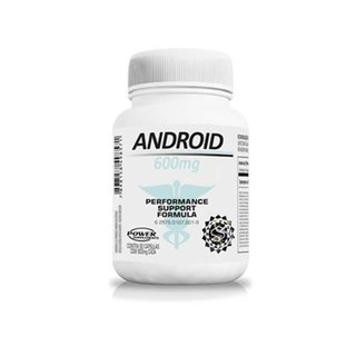 Android 600mg - Power Supplements - 60 cápsulas