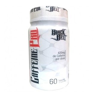 Caffeine Pro - Black Belt - Steel Nutrition - 60 Cápsulas