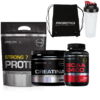 Kit - Strong 7 Protein + Creatina + Bcaa 2400 + Brinde Probiotica