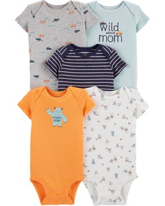 set 5 bodys carters