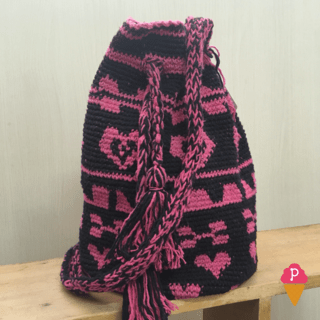 Bolsa Wayuu Colombiana Exclusiva