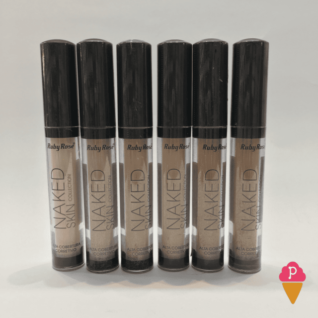Corretivo Líquido Naked Skin Ruby Rose HB-8080