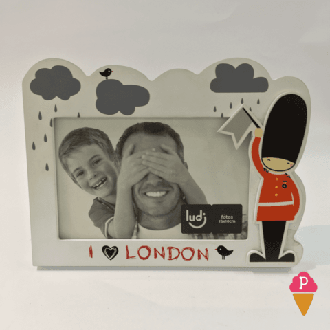 Porta-Retrato I Love London (Eu Amo Londres)
