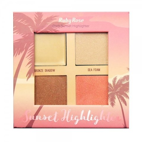 Iluminador Sunset Highlighter Dark (cod. HB7504DARK)