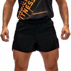 Short de running RADICAL negro (SHORT-R-01)