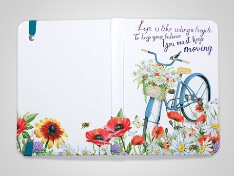 Sketchbook Bike Floral na internet