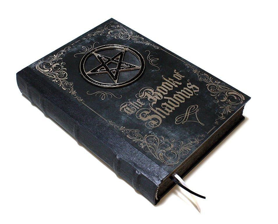 Grimório The Book of Shadows - Design Feito à Mão