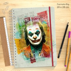 Sketchbook Coringa na internet