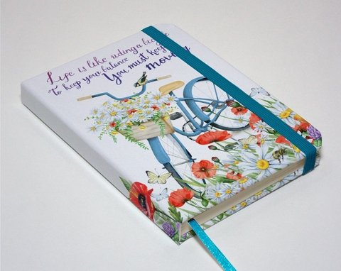 Sketchbook Bike Floral - comprar online