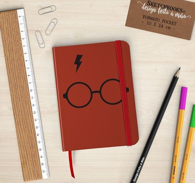 Sketchbook Harry Potter - comprar online