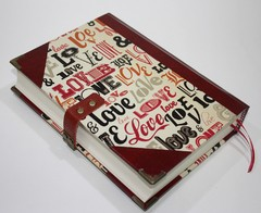 Caderno The Love Book - comprar online