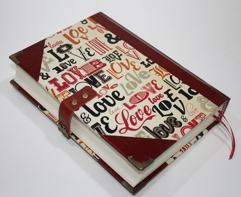 Caderno The Love Book