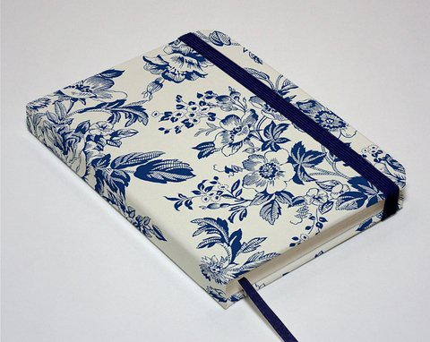 Sketchbook Floral Azul