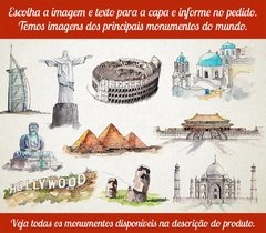 Sketchbook Monumentos Aquarela na internet