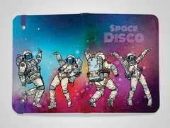 Sketchbook Space Disco 14x20cm com pauta - comprar online