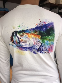 GRAPHIC TECH FISH TEE (52145) - comprar online