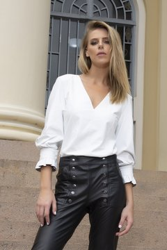 BLUSA MANGA LONGA - ZINNIA Leather